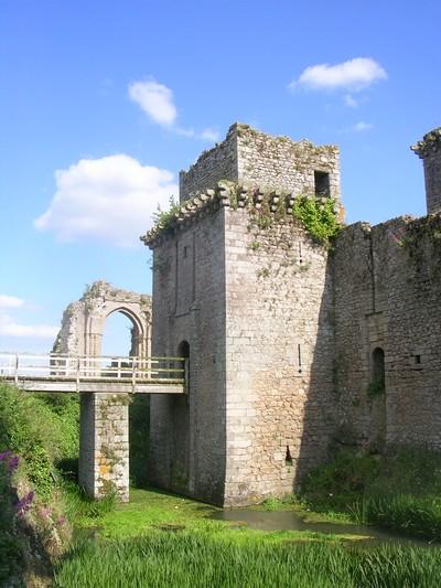 Chateau de Tiffauges - histoire sympa
